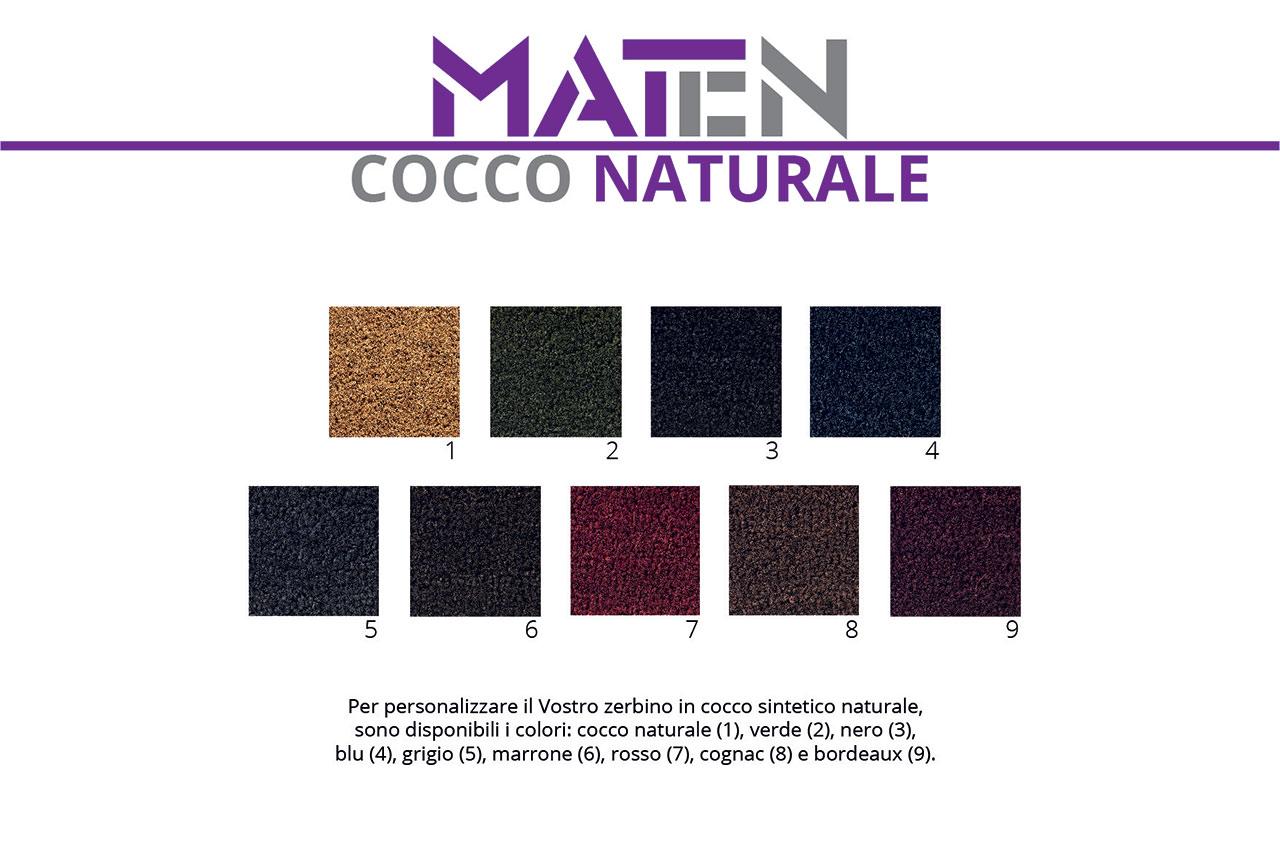 cocco naturale - mat.en s.r.l. produzione e vendita zerbini