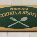 Zerbino in cocco sintetico personalizzato Premiata Gnoccheria & Risotteria