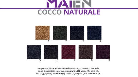 Gamma colori Cocco naturale