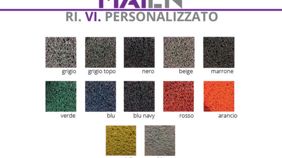 Gamma colori RI.VI Personalizzato