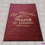 Tappeto personalizzato tramite stampa Taverna da Camillo