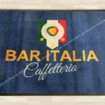 Tappeto personalizzato tramite stampa Bar Italia