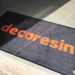 Tappeto personalizzato tramite stampa Decoresin
