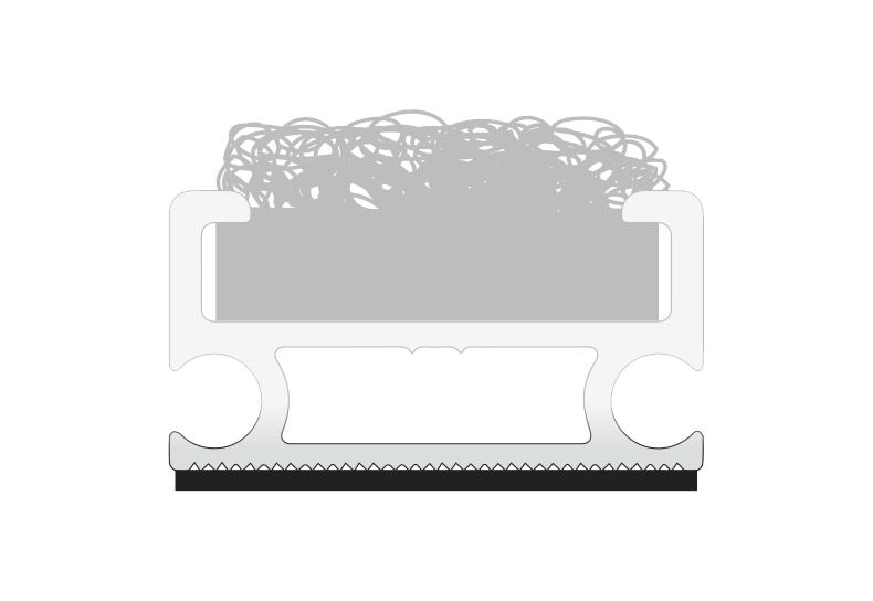 Zerbini tecnici - Fondo schiumetta isolante