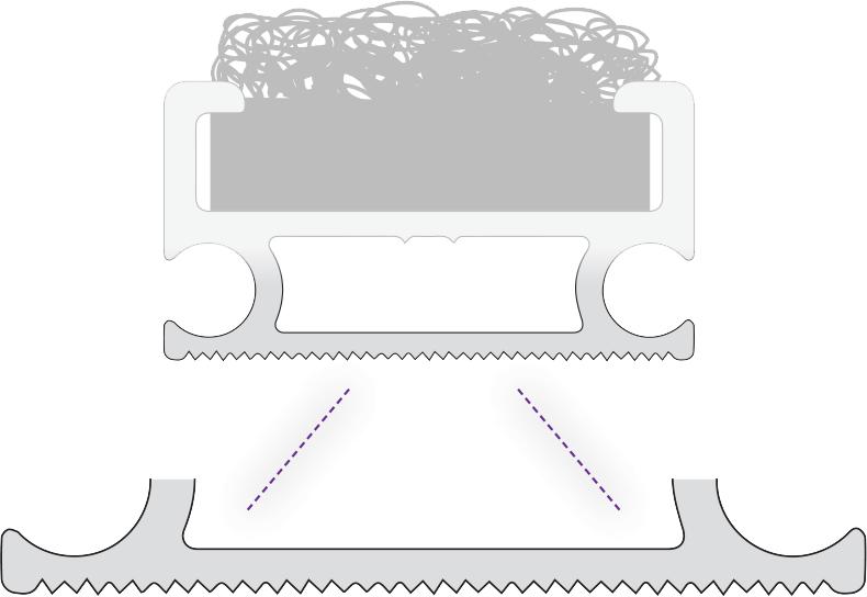 Zerbini tecnici - Fondo zigrinato